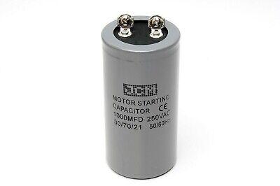 1000mdf 250vac Motor Starting Capacitor Cd60a 1000uf 250 Vac Uf 250v 1000 Mfd Ac