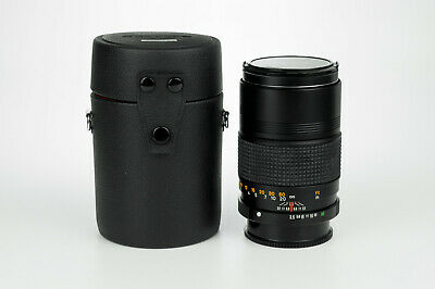 Konica AR Hexanon 135mm 1:3.5 obiettivo tele portrait lens Konica Ar mount