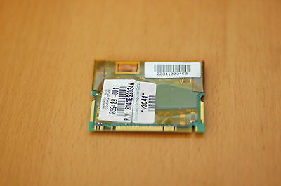 HP Compaq 259489-001 Mini PCI 56K Internal Modem Card 56Kbps