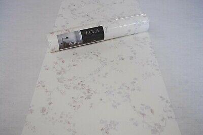 Papel de Pared Pintado 368961 Como Floral Flores Blanco Violeta Púrpura Bor