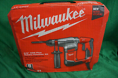 Milwaukee 5263-21 58 Sds Plus Rotary Hammer Drill Kit Wcase