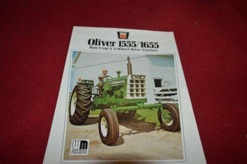 Oliver Tractor 1555 1655 Tractor Dealer