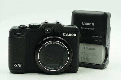 Canon PowerShot G15 12.1MP Digital Camera w/5x Zoom                         #937