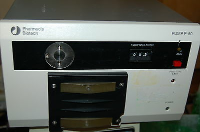Ge Pharmacia Hiload Pump P-50 Chromatography Lc Liquid High Load Preparative