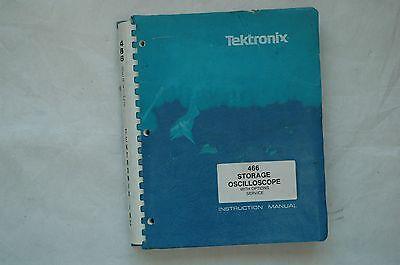 Tektronix 466 Osciolloscope Original Service Manual