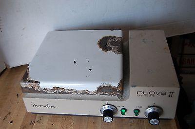 Thermolyne Nuova Ii Stirrer Hotplate Stirring Hot Plate Trf Heating Stirring B