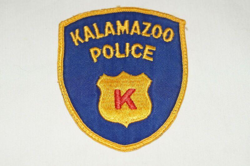 US Kalamazoo Michigan Police Patch 1