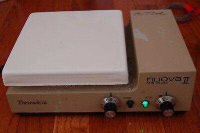 Thermolyne Nuova Ii Stirrer Hotplate Stirring Hot Plate Heating Stirring Sqax