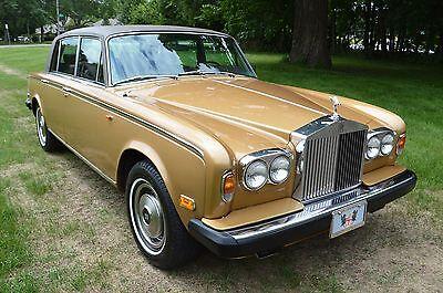 1979 Rolls-Royce Silver Shadow - Wraith II Rarely seen colour in America. Very clean nicely presented Wraith II (LWB)