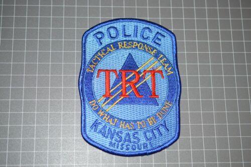 Kansas City Missouri Police Tactical Response Team Patch (B17-9)