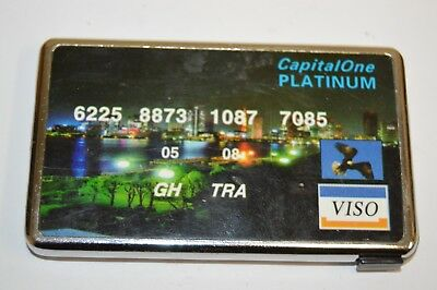 Capital One Bank Credit Card Shaped Orlando Magic Cigarette Lighter Needs Fuel