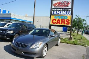 2010 INFINITI G37x PREMIUM | BACKUP CAM | LEATHER | SUNROOF | HE
