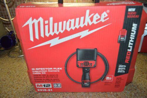 Milwaukee 2315-21 3-Foot M12 Instant Capture M-Spector Flex Cable Kit
