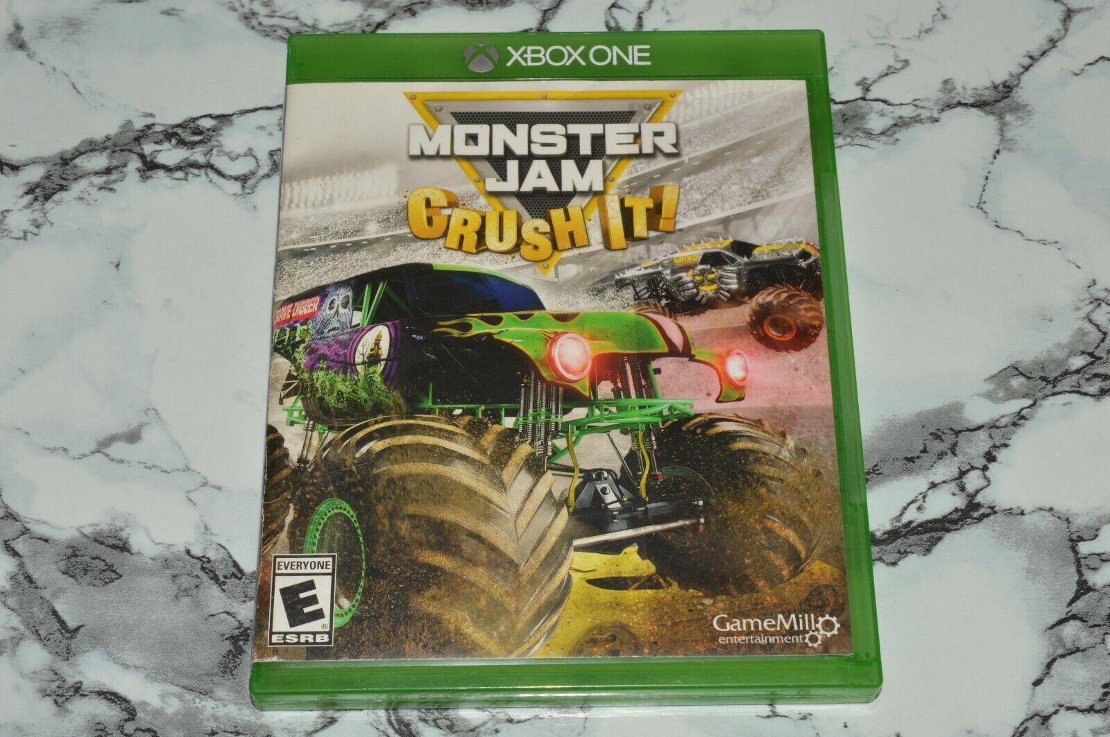 Monster Jam - Crush It Microsoft Xbox One, 2016 -- Please Read  - $11.18