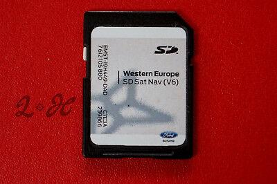 FORD SONY WESTERN MFD V6 SAT NAV SD CARD C-MAX FOCUS TRANSIT FIESTA RANGER
