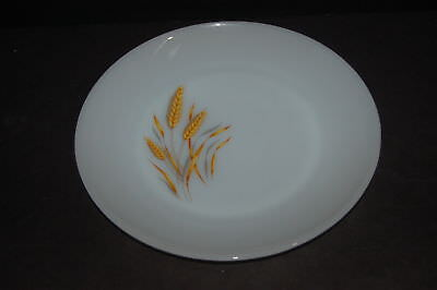 11 Anchor Hocking Fire King Milk Glass Wheat Dinner Plate 10 inch plates