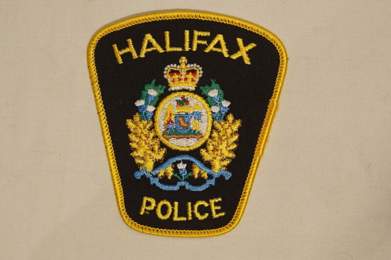 Canadian Nova Scotia Halifax Police Patch 1
