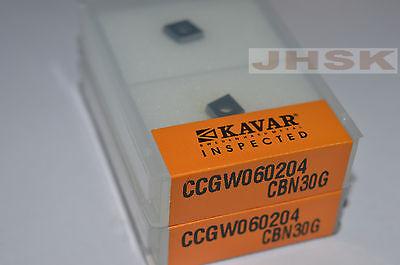 2pcs Ccgw060204 Cbn Insert Diamond Cutting Tools