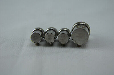 4x Olympus Panametrics Ndt V206 V204 V201 M202 Delay Line Transducers Immersion