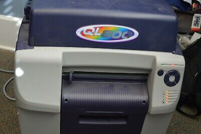Astronova Quicklabel Ql-800 Color Label Printer Digital Appears To Work
