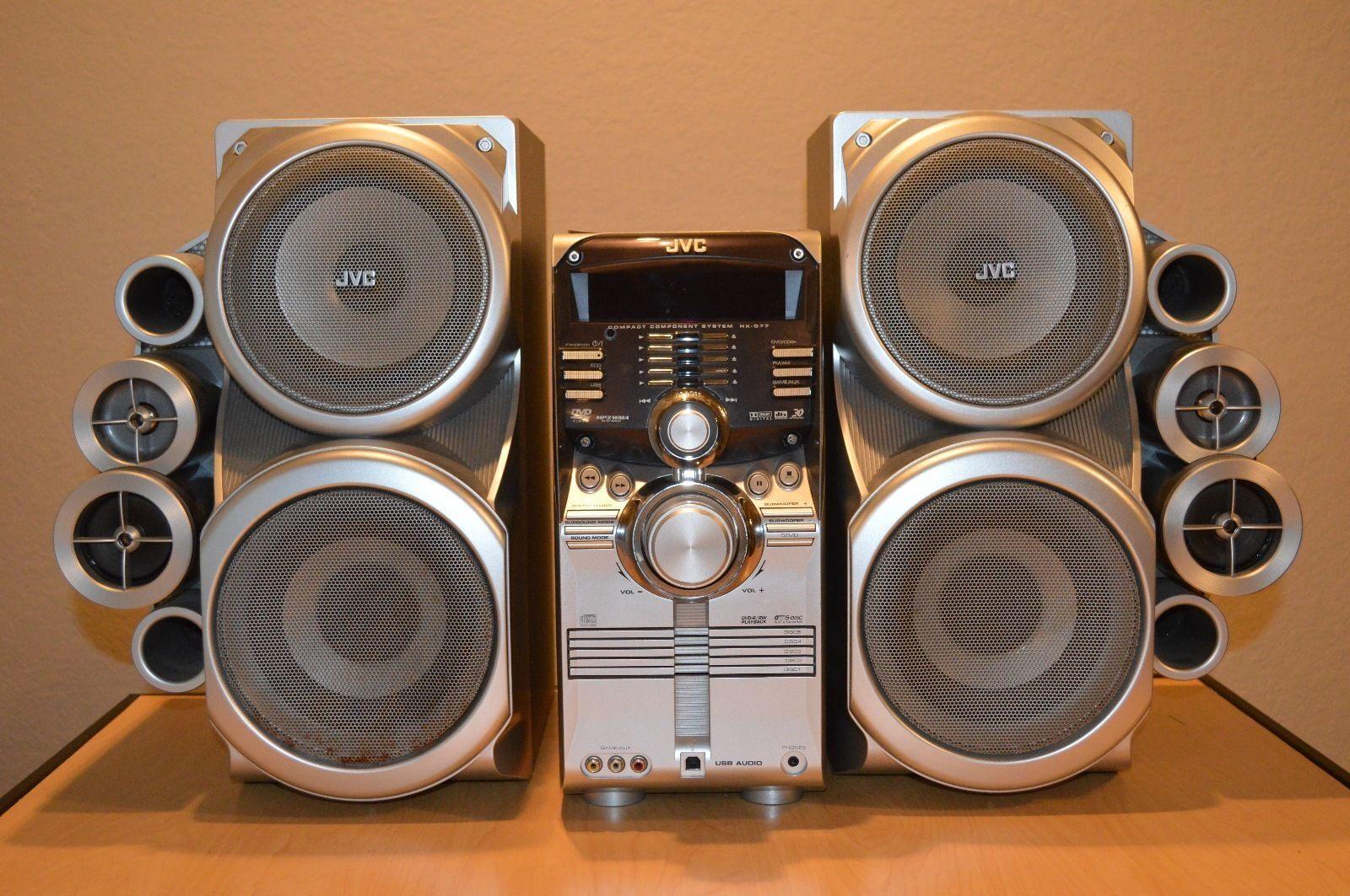 top 10 shelf stereo systems ebay. Black Bedroom Furniture Sets. Home Design Ideas