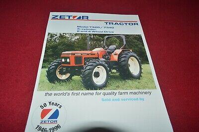 Zetor 7320 7340 Tractor Dealers Brochure CDIL, używany na sprzedaż  Wysyłka do Poland
