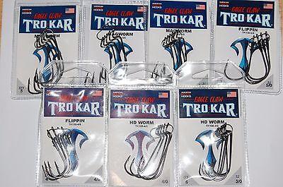 10 packs lazer tro kar trokar swimbait hooks 3//0 tk170-3//0 bass hooks 1//8oz