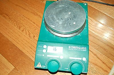 Chemglass Ika Digital Hotplate Stirrer Dry Magnetic Hot Plate Safety Disc