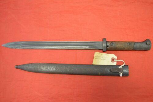 Vintage Czech VZ-24 Bayonet with Scabbard ~ CSZ B