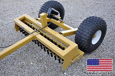6ft Driveway Grader - Clevis Hitch Pull Behind - Atv Utv Rov Mower Compatible