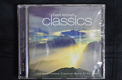 Best Known Classics - Mozart, Strauss, Chopin, Bizet etc  CD new and sealed