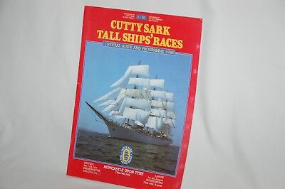 Cutty Sark Tall Ships' Races Newcastle 1986 Guide & Programme, many photographs