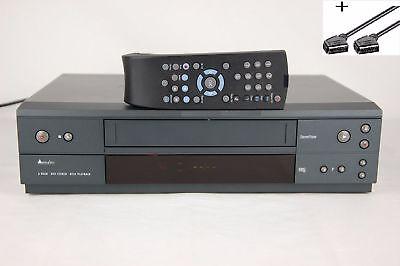 Videorecorder 6-Kopf HiFi VHS Videorekorder mit original Fernbedienung VCR