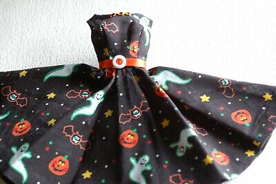 Halloween themed Barbie dress Ghost and Goblins! Vintage Body style
