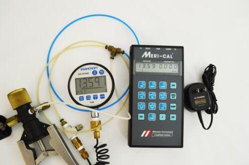 Meriam Meri Cal Precision Manometer Pressure  Calibrator DP2000I - CALIBRATED