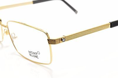 MONT Blanc Gold 481 030 Brand New Eyeglasses 60-16-140 without case