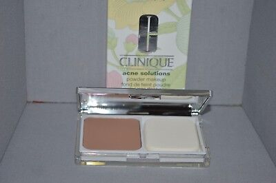 Clinique Acne Solutions Powder Makeup 14 Vanilla .35oz New Boxed