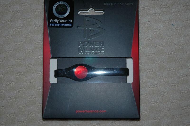 Authentic Power Balance Bracelet Bundle (10 Black)  (Size Small)