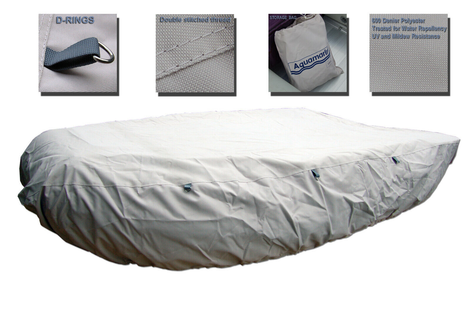 Inflatable Boat cover Dinghy cover UV PROTECTION