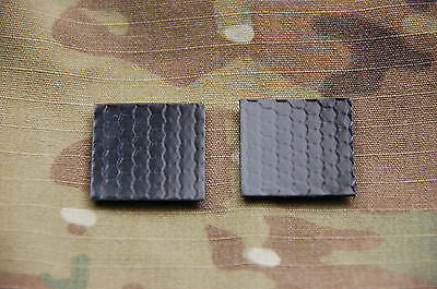 """1"""" IR Squares x 2 Patch Infrared IFF Marker US Army Navy Air Force SEAL USN USAF"""
