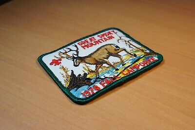 Great Smoky Mountain Council Boy Scouts Of America Fall Camporee 1978 Deer Patch