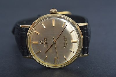 OMEGA SEAMASTER DE VILLE AUTOMATIC GOLD FILLED MEN'S WRISTWATCH RARE SWISS