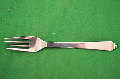 Lovely Vintage Georg Jensen Denmark E.P.N.S Pyramid Silver Plate Fork RDL4401