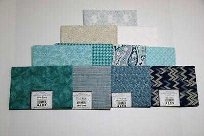 Coordinating Fabrics For Joanns Block Of Month  Ocean Breeze  Quilt Kits Fq New