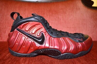 dbb08ca026174 CLEAN Nike Air Foamposite Pro University Red Black 624041-604 Size 11.5  Black