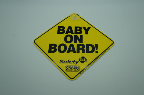 Safety 1st Baby On Board Sign (suction cup)