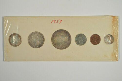 1957 Canada Proof-Like PL Mint Set in Original Cardboard