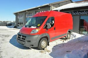 2015 Ram Promaster 2500 High Roof/Camera/3 Seater