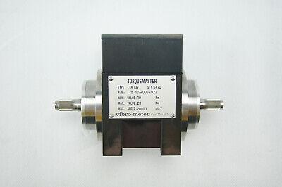 Vibro-meter Torquemaster Tm107 Torque Transducer Magtrol Vibrometer