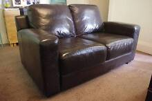 2 & 3 Seater Leather Couches with Ottoman Coogee Eastern Suburbs Preview